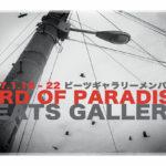 ビーツギャラリーメンバー展「BIRD OF PARADISE」1月18日(水)〜1月22日(日)