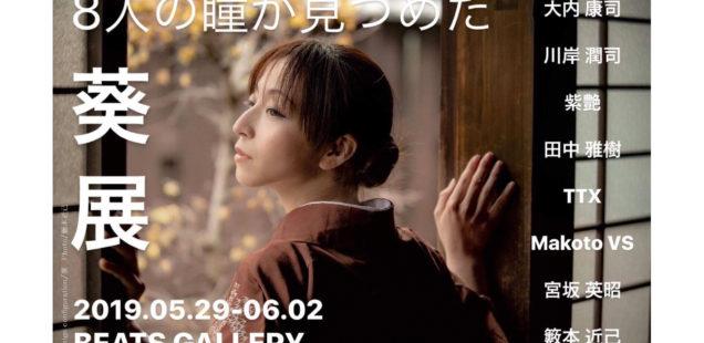 8人の瞳が見つめた「葵展」5月29日(水)〜6月2日(日)