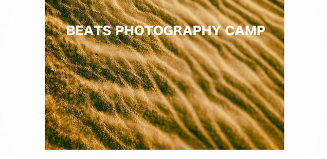「Sanin」BEATS PHOTOGRAPHY CAMP1月22日(水)〜1月26日(日)